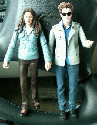Pocket Edward & Bella in happier times