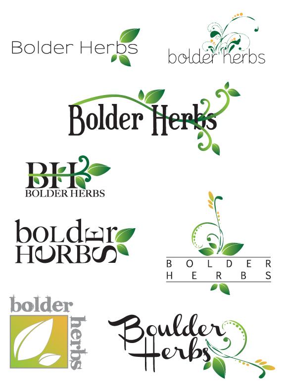 Bolder Herbs Logo Ideas